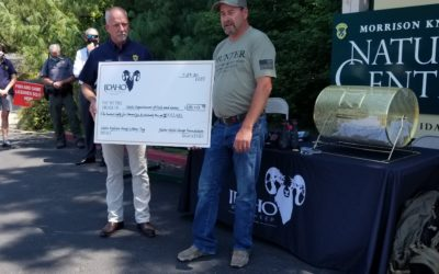 29th Annual Bighorn Sheep Lottery Tag Drawn